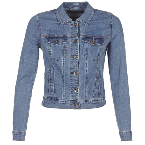 vaatteet Naiset Farkkutakki Vero Moda VMHOT SOYA Blue