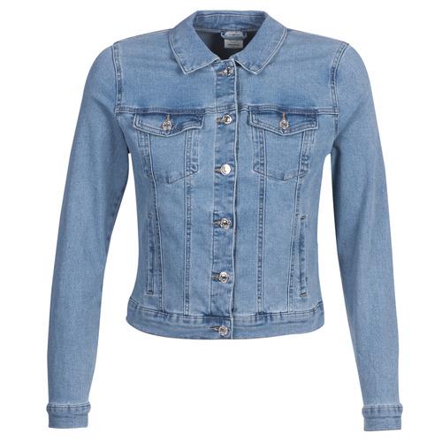 vaatteet Naiset Farkkutakki Vero Moda VMHOT SOYA Sininen