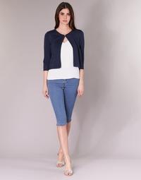 vaatteet Naiset Caprihousut Vero Moda VMHOTSEVEN Blue