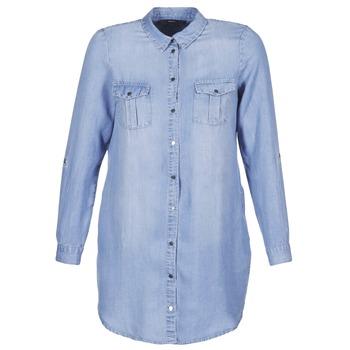 vaatteet Naiset Lyhyt mekko Vero Moda VMSILLA Blue / Clair