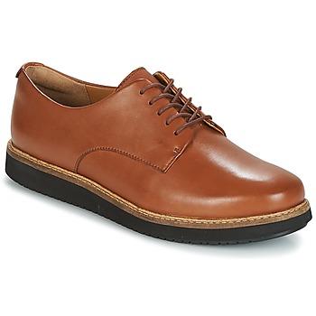 kengät Naiset Derby-kengät Clarks GLICK DARBY Pimeä