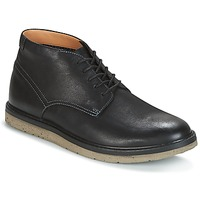 kengät Miehet Bootsit Clarks BONNINGTON TOP Musta / Nahka
