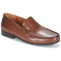 kengät Miehet Mokkasiinit Clarks CLAUDE PLAIN Ruskea / Nahka