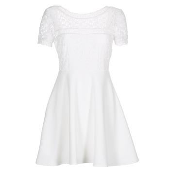 vaatteet Naiset Lyhyt mekko Betty London INLOVE White