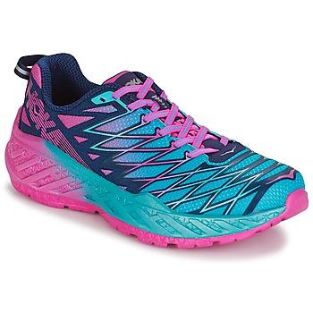 kengät Naiset Juoksukengät / Trail-kengät Hoka one one W CLAYTON 2 Blue / Pink
