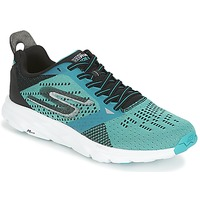 kengät Miehet Juoksukengät / Trail-kengät Skechers GO Run Ride 6 Blue / Black