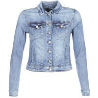 vaatteet Naiset Farkkutakki Vila VISHOW Sininen