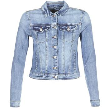 vaatteet Naiset Farkkutakki Vila VISHOW Blue