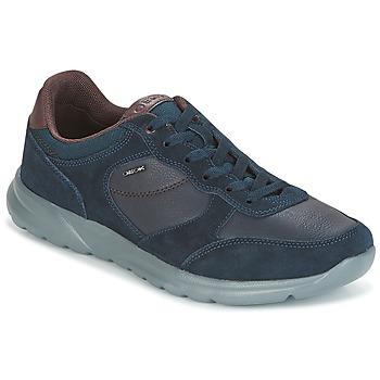 kengät Miehet Matalavartiset tennarit Geox U DAMIAN Blue