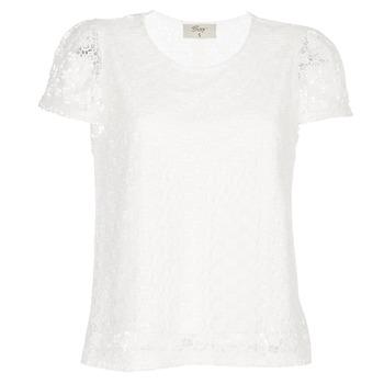 vaatteet Naiset Topit / Puserot Betty London I-LOVI Valkoinen