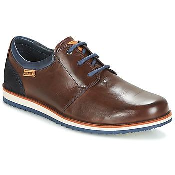 kengät Miehet Derby-kengät Pikolinos BIARRITZ M5A Brown / Blue