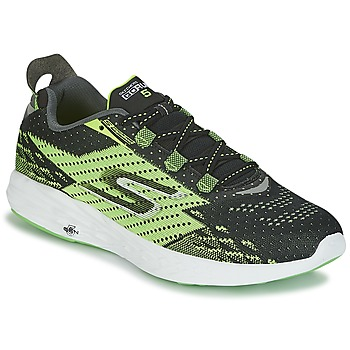 kengät Miehet Juoksukengät / Trail-kengät Skechers Go Run 5 Black / Green