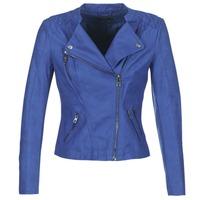 vaatteet Naiset Nahkatakit / Tekonahkatakit Only AVA Blue