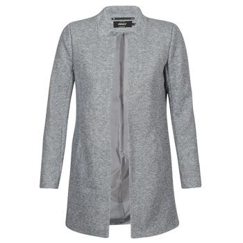vaatteet Naiset Paksu takki Only SOHO Grey