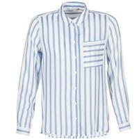 vaatteet Naiset Paitapusero / Kauluspaita Only CANDY White / Blue