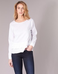 vaatteet Naiset Topit / Puserot Only TINE White