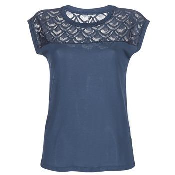 vaatteet Naiset Lyhythihainen t-paita Only NICOLE Laivastonsininen