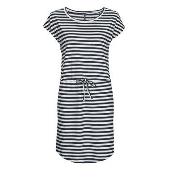 vaatteet Naiset Lyhyt mekko Only MAY Laivastonsininen
