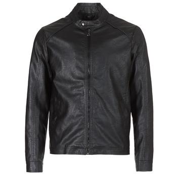 vaatteet Miehet Nahkatakit / Tekonahkatakit Yurban IMIMID Black