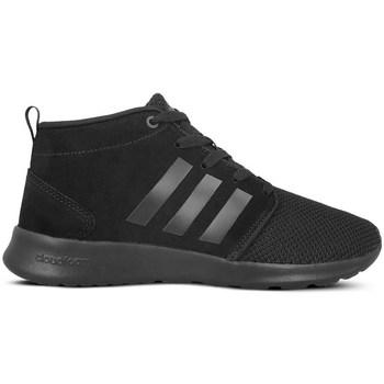 kengät Naiset Korkeavartiset tennarit adidas Originals CF Racer Mid Neo Mustat