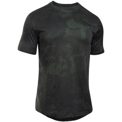 vaatteet Miehet Lyhythihainen t-paita Under Armour UA Sportstyle Core Tee Vert