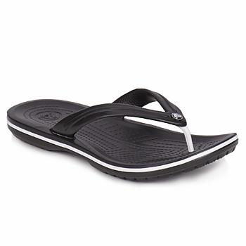 kengät Varvassandaalit Crocs CROCBAND FLIP Black