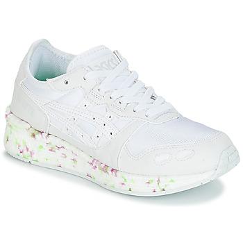 kengät Lapset Matalavartiset tennarit Asics HYPER GEL-LYTE GS Valkoinen / Vaaleanpunainen / Vihreä