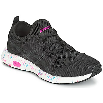 kengät Naiset Matalavartiset tennarit Asics HYPER GEL-SAI W Black / Blue / Pink