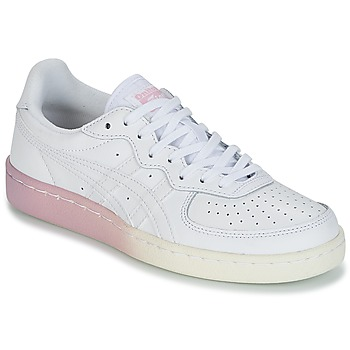 kengät Naiset Matalavartiset tennarit Onitsuka Tiger GSM LEATHER White / Pink