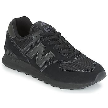 kengät Miehet Matalavartiset tennarit New Balance ML574 Musta