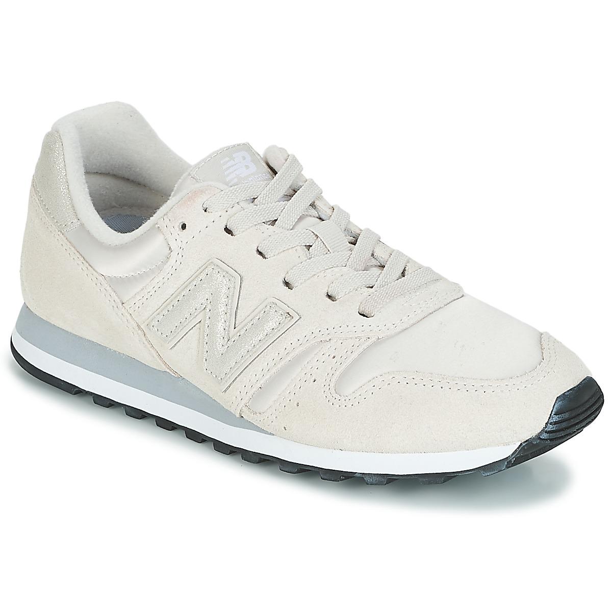 buy popular 63288 4d2ff New Balance WL373 White - Ilmainen toimitus osoitteessa Spartoo.fi! ! - kengät  Matalavartiset tennarit Naiset 69,59 €