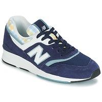 kengät Naiset Matalavartiset tennarit New Balance WL697 Sininen