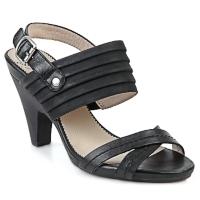 kengät Naiset Sandaalit ja avokkaat Wonders BELTRAO Black