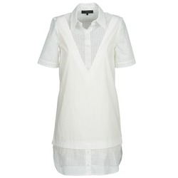 vaatteet Naiset Lyhyt mekko American Retro CHARLOTTE White
