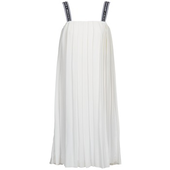 vaatteet Naiset Pitkä mekko American Retro VERO LONG Valkoinen