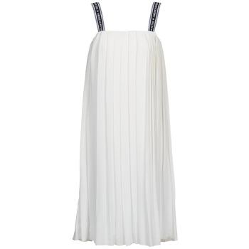 vaatteet Naiset Pitkä mekko American Retro VERO LONG White