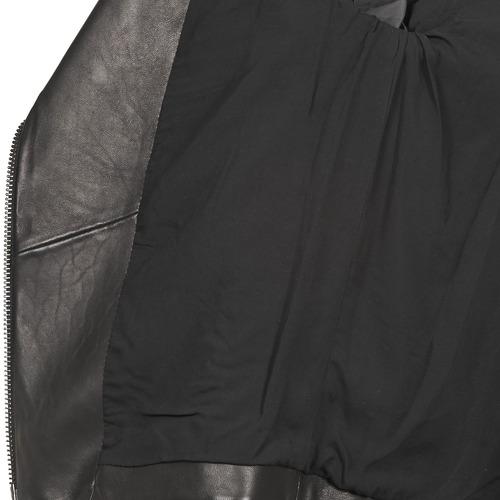 American Retro Leon Jckt Black - Ilmainen Toimitus- Vaatteet Nahkatakit / Tekonahkatakit Naiset 465