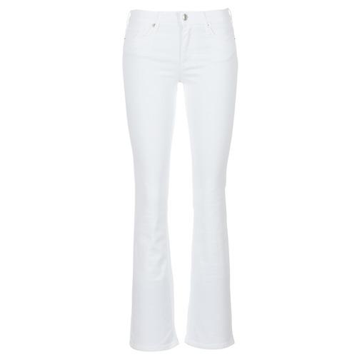 vaatteet Naiset Bootcut-farkut Moony Mood IALOLAO White