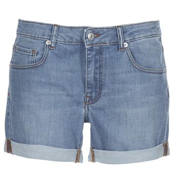 vaatteet Naiset Shortsit / Bermuda-shortsit Yurban INYUTE Blue / Clair