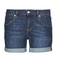 vaatteet Naiset Shortsit / Bermuda-shortsit Moony Mood INYUTE Blue / Fonce