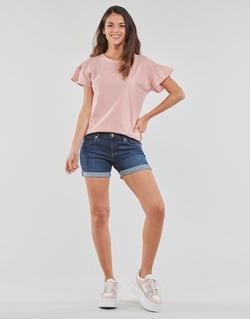 vaatteet Naiset Shortsit / Bermuda-shortsit Yurban INYUTE Blue / Fonce