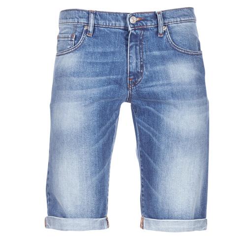 vaatteet Miehet Shortsit / Bermuda-shortsit Yurban IXOLAK Sininen / Clear