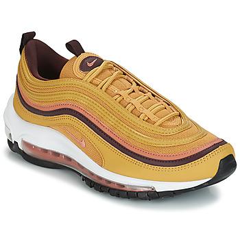 kengät Naiset Matalavartiset tennarit Nike AIR MAX 97 W Yellow
