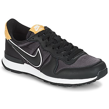kengät Naiset Matalavartiset tennarit Nike INTERNATIONALIST HEAT Black / Kulta
