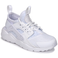 kengät Lapset Matalavartiset tennarit Nike HUARACHE RUN ULTRA PRE-SCHOOL White