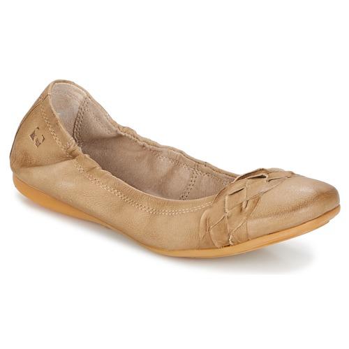 kengät Naiset Balleriinat Dream in Green TAVERNI Beige