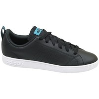 kengät Naiset Matalavartiset tennarit adidas Originals VS Advantage CL W Mustat