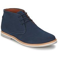 kengät Miehet Bootsit Frank Wright BARROW Sininen / Canvas
