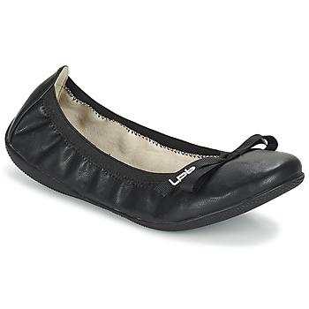 kengät Naiset Balleriinat Les P'tites Bombes ELLA Black