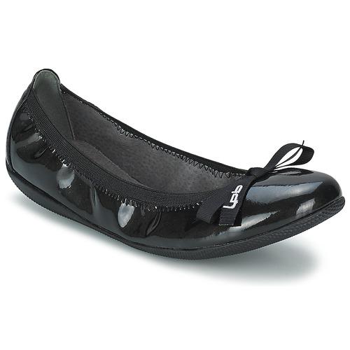 kengät Naiset Balleriinat Les Petites Bombes ELLA VERNIS Black